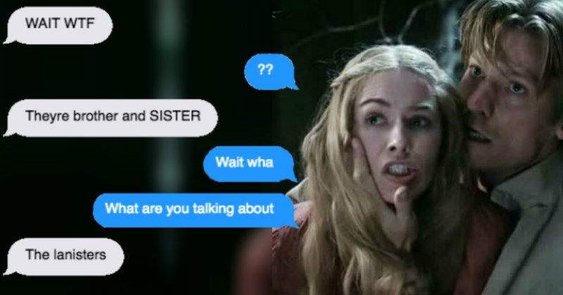 Guy's Girlfriend Starts Watching Game of Thrones For the First Time and Makes a Shocking Revelation