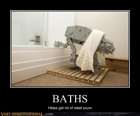 star wars,bath,at at