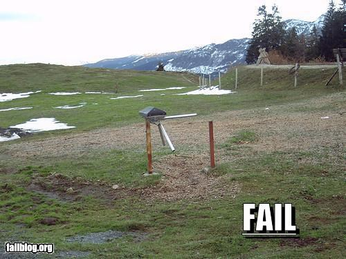 Gate fail Gate in the middle of nowhere, Austria (1800 m)