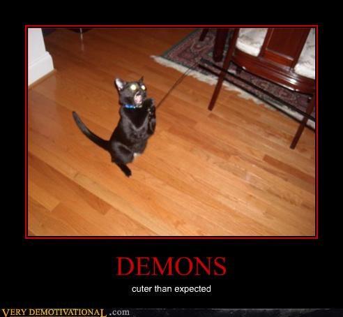 cat cute demon - 3067860480