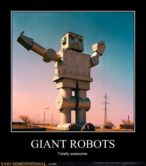 awesome,giant,robot
