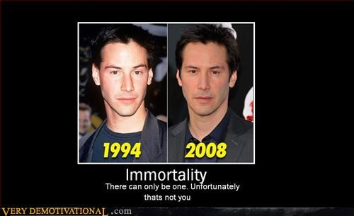 highlander hilarious idiots immortal sword immortality keanu reeves Pure Awesome