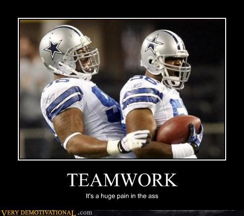 butthurt Cowboys hilarious teamwork - 3068303872
