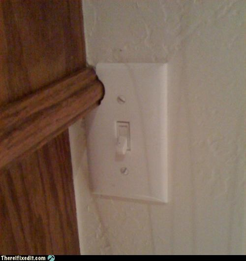 in the way,light switch,make it fit