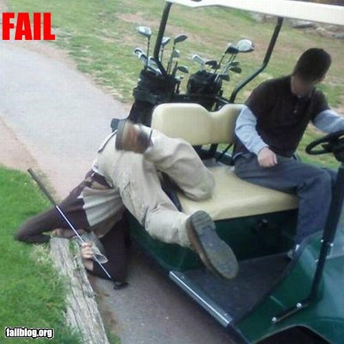 fall,golf,g rated,stupid