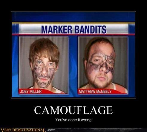 robbers bandits geniuses camouflage - 3071067136