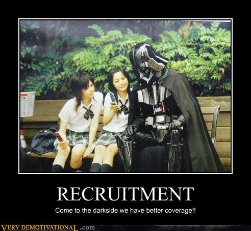 recruitment dark side darth vader - 3074053632