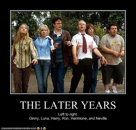 dylan moran Harry Potter image Nick Frost sci fi Shaun Of the dead Simon Pegg zombie - 3074268928