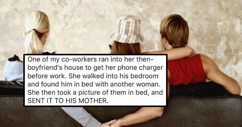 People share brutal stories of walking in on their partners cheating.