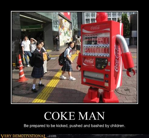 man,coke,children