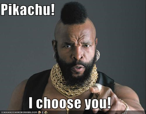 mr t,pikachu,Pokémon,tough guy