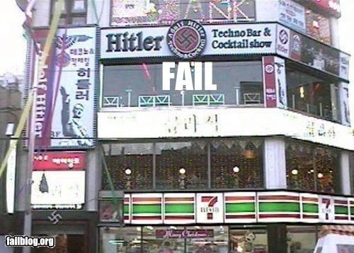 adolf hitler bar night club race racism racist wtf