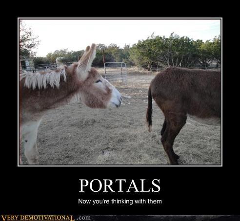 portals donkey thinking - 3082578944