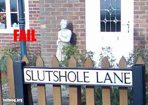 name slut street name - 3083534336