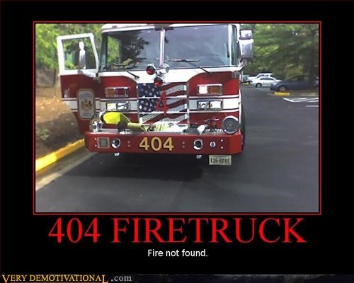 404 Fire Truck Pure Awesome - 3086034432