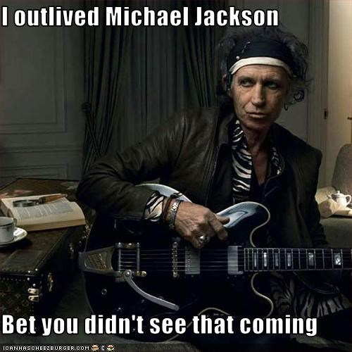 Death drugslots-and-lots-of-drugs Keith Richards michael jackson Music the rolling stones - 3086861824