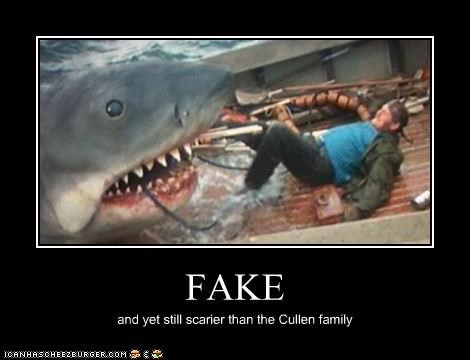 FAKE and yet still scarier than the Cullen family