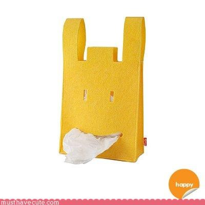 bag Faces On Stuff Kitchen Gadget nom yellow - 3089904384