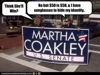 campaigns democrats martha coakley massachusetts supporters voting