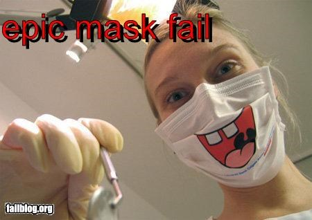 dentist face g rated mask scary - 3091851520
