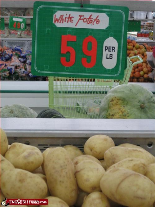 g rated,grocery store,potato,signs,white