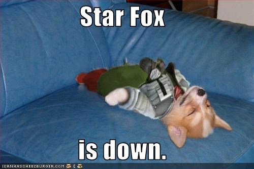 costume Hall of Fame Star Fox video games welsh corgi - 3094234624