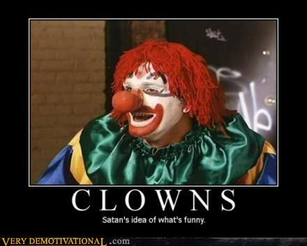 clowns creepy devil funny horrifying satan scary Terrifying wtf - 3095631360