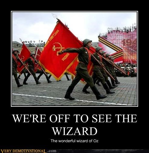 WE'RE OFF TO SEE THE WIZARD The wonderful wizard of Oz