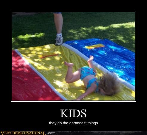 FAIL,hilarious,kids,Mean People,Pure Awesome,slip and slide