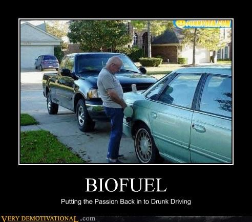 BIOFUEL Putting the Passion Back in to Drunk Driving