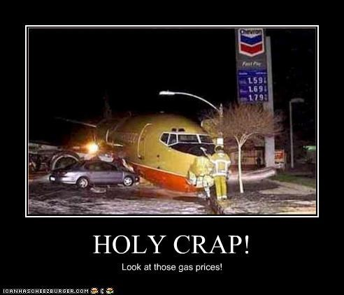 HOLY CRAP! Look at those gas prices!