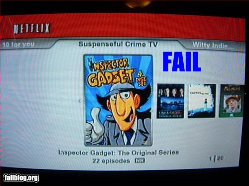crimes,failboat,g rated,inspector gadget,movies,netflix,suggestions,suspense