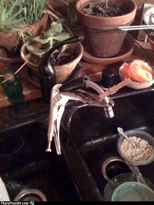 clamp,clothespin,kitchen sink,Mission Improbable,pliers