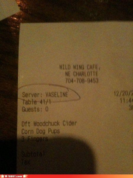 filthy receipt get that full feeling hurr hurr lube sex jokes vaseline will it fit yes it will - 3109699328