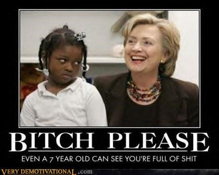 child crap full of it hilarious Hillary Clinton little girl wtf