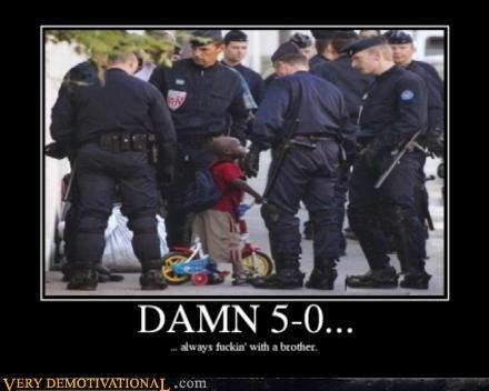 bicycle,cops,damn,hilarious,kid,racist,wtf