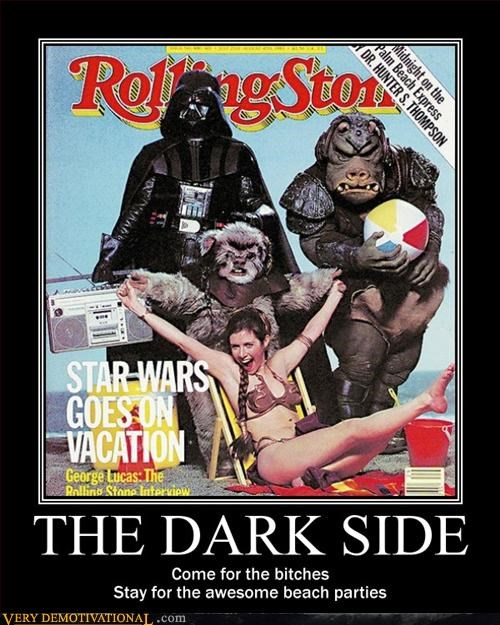 beach party dark side hilarious Pure Awesome rolling stone - 3110369536