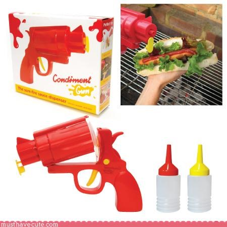 cute Faces On Stuff ketchup Kitchen Gadget - 3112437760