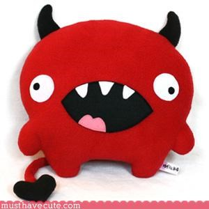 cute,evil,hand made,Pillow,Plushie