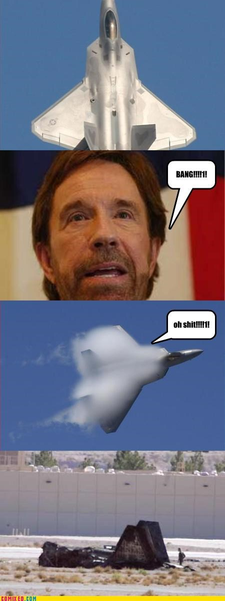 celebutard,chuck norris,f22,From the Movies,FTW