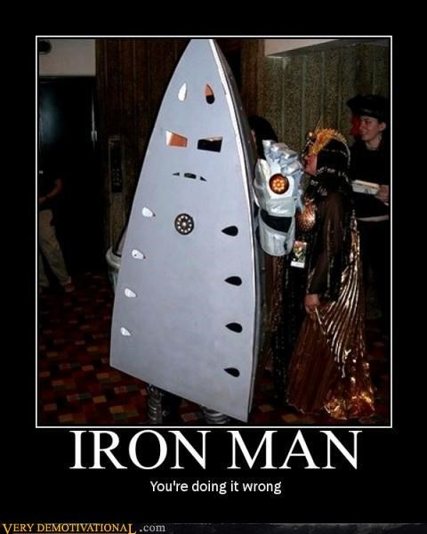 black sabbath cosplay hilarious I am Iron Man not really iron man ur doing it rong