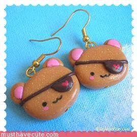 bear cute Jewelry Pirate - 3116047360