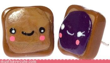 cute Faces On Stuff food hand made Jewelry - 3116077568