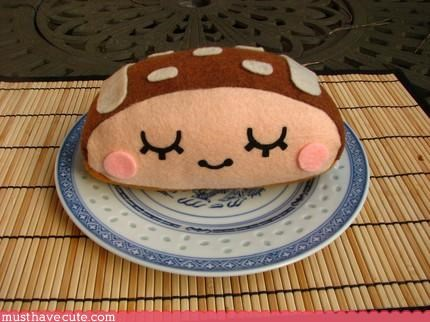 cute food hand made Pillow Plushie toy - 3116080384