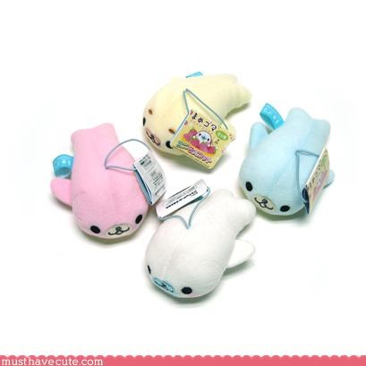 cute Plushie seal sweet toys - 3116083456