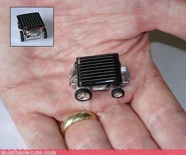 hand made robot Teeny wtf - 3116093696