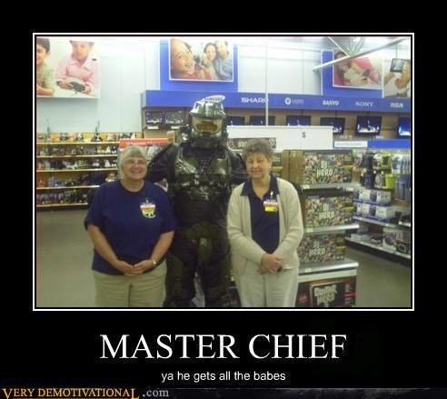 babes,halo will get you hella laid dudes,master chief,Pure Awesome