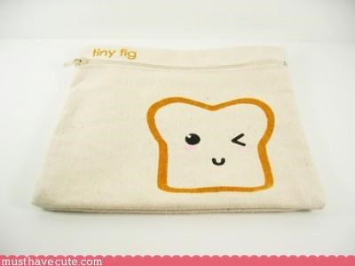 bag cute Faces On Stuff food Pastel - 3119991040