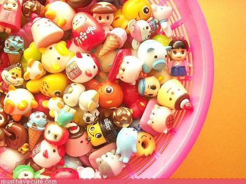 cute Faces On Stuff rainbow Teeny toys - 3120116224