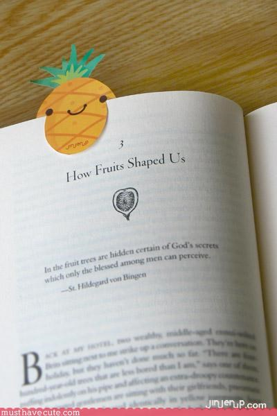 Faces On Stuff fruit hand made handy stationary
